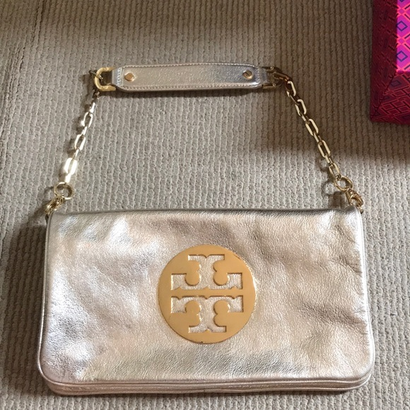 7a65dc852b Tory Burch Bags | Gold Purseclutch | Poshmark
